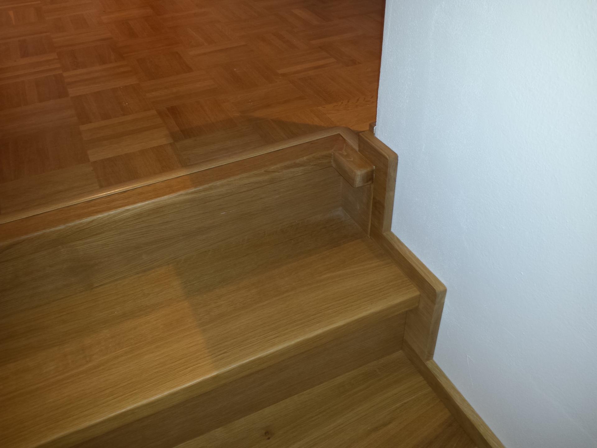 Dřevěný obklad schodiště na zakázku Ostrava - 4